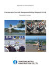 Corporate Social Responsibility Report 2014 Excerpted Version
